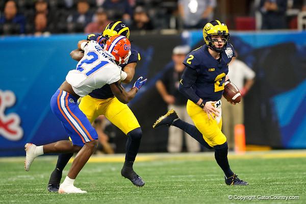 Chick -fil--a Peach Bowl 2018 - Florida Gators vs Michigan Wolverines - QUICK GALLERY - 12/29/2018