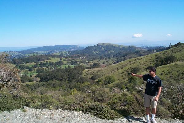 Hiking at Pine Mountain & Carson Falls with Mandar