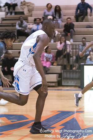 1/05/2018 Watkins Mill HS vs Blake HS Boys Varsity Basketball, Photos by Jeffrey Vogt Photography
