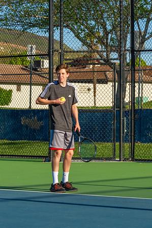 2019-04-13 Dixie HS Tennis - Max McNamee