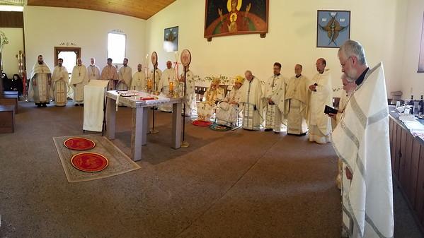 Community Life v- Transfiguration Monastery Liturgy - August 6, 2016