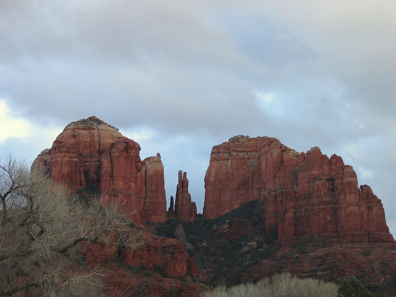 Cathedral Rock, Sedona, AZ;  January 2005