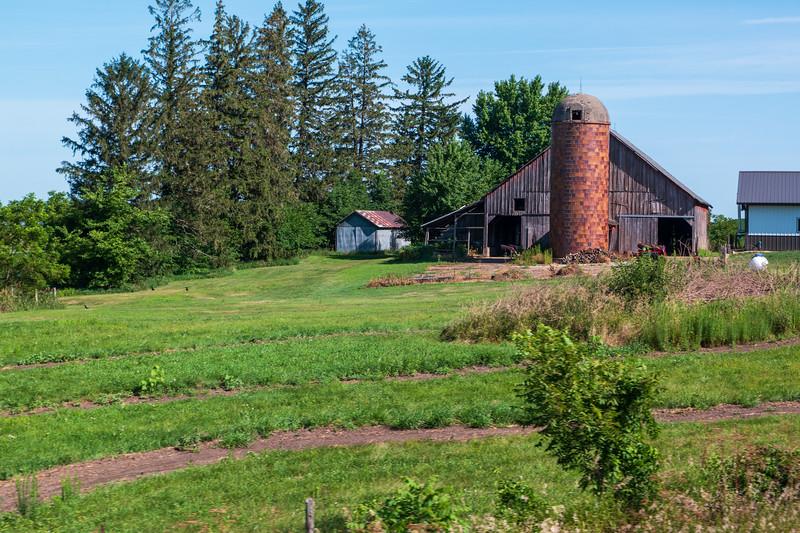 Iowa Barn & Silo