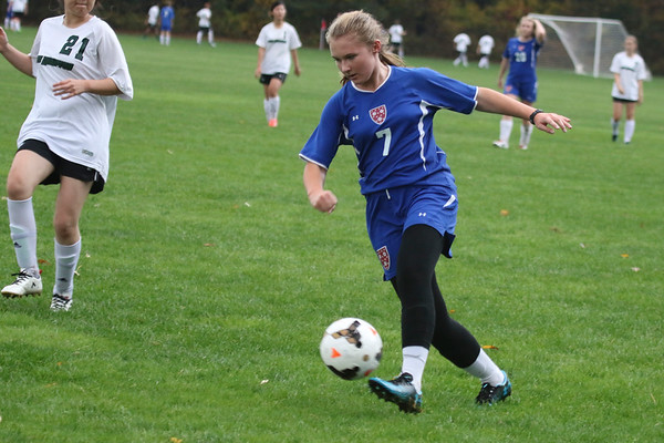 Girls' JV Soccer vs. New Hampton | October 25