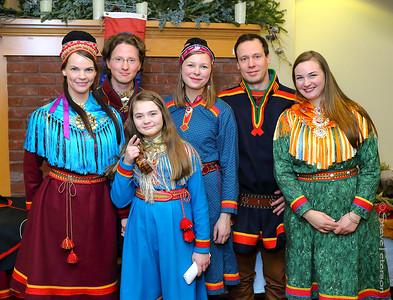 Sami Singers - Walker Church, 12/13/16