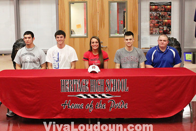 College Signing: Heritage May 2011