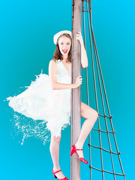 Jessica Milk Pinup