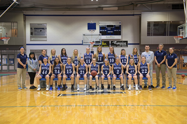 Women's Basketball Team Photos, Nov. 2019