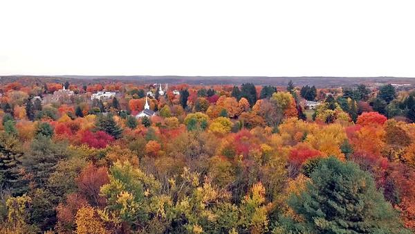 Autumn over Newtown