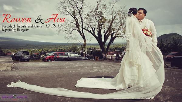Rowen ♥  Ava Wedding | Sneak Peeks