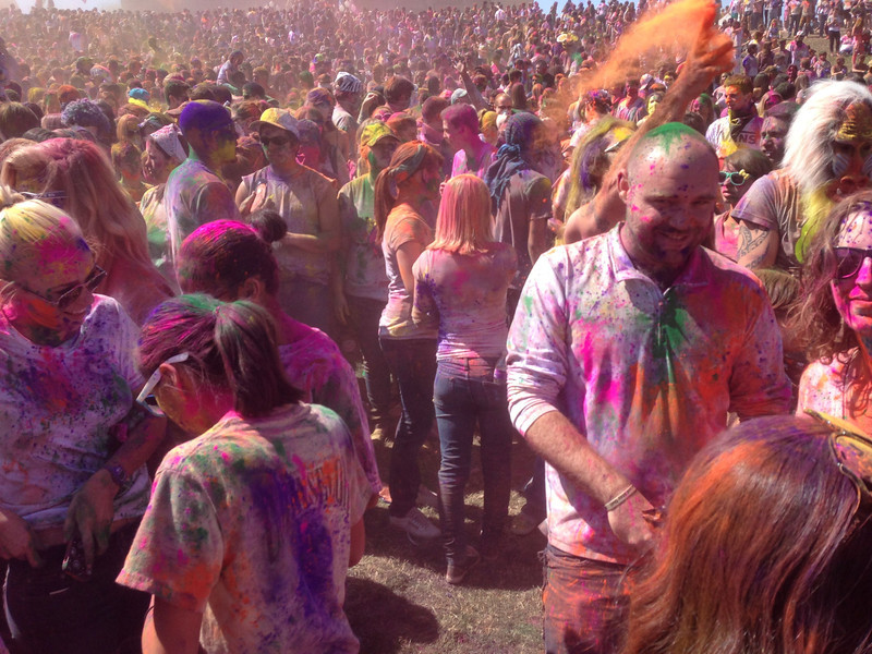 Holi Festival of Color Utah 2013 - Fantastic Day!