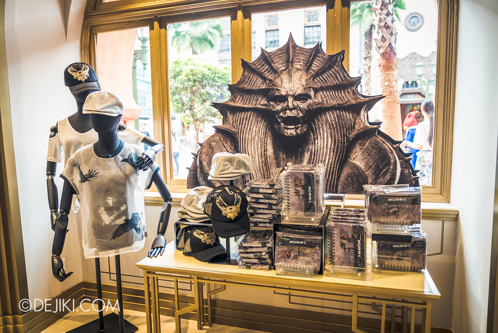 Universal Studios Singapore Park Update June 2017 - Silver Screen Store THE MUMMY 2017 merchandise