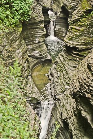 NY>Watkins Glen Falls
