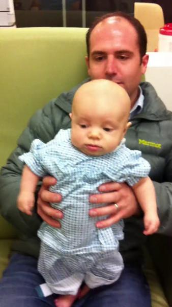Charlie hydrocele surgery 3 8 2012