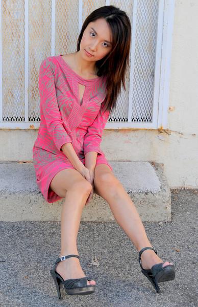 beautiful woman model red dress 155.345.3.45
