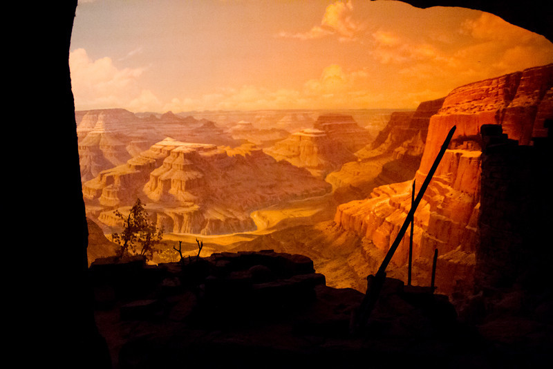 Grand Canyon Diarama From The Disneyland Railroad