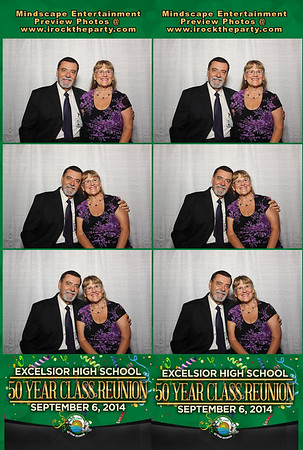 Excelsior High School 50 Year Class Reunion - Photo Booth Pictures