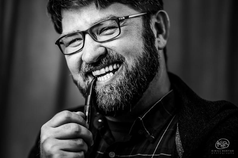 Portraits of friends: Kirill