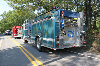 Brush Fire Response, Catawissa Road, Schuylkill Township (7-31-2011)