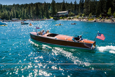 Miss Tahoe, at the classic wooden boat show, 2011