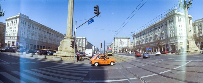ANALOG HORIZONT Kodak Gold 200 Warszawa Spring