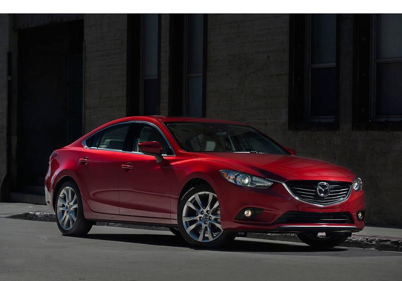 . All-New 2014 Mazda6 Debuts at LA Auto Show.  (PRNewsFoto/Mazda North American Operations)