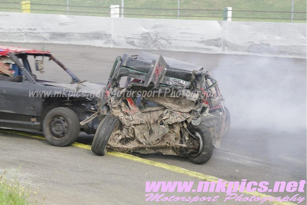 1400cc Bangers, Northampton, 12 August 2012