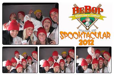 BEBOPS SPOOKTACULAR 2012
