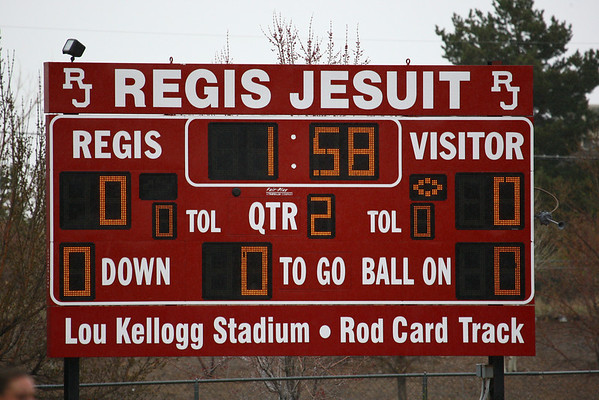 2010 Girls Varsity vs Regis 04/17/10