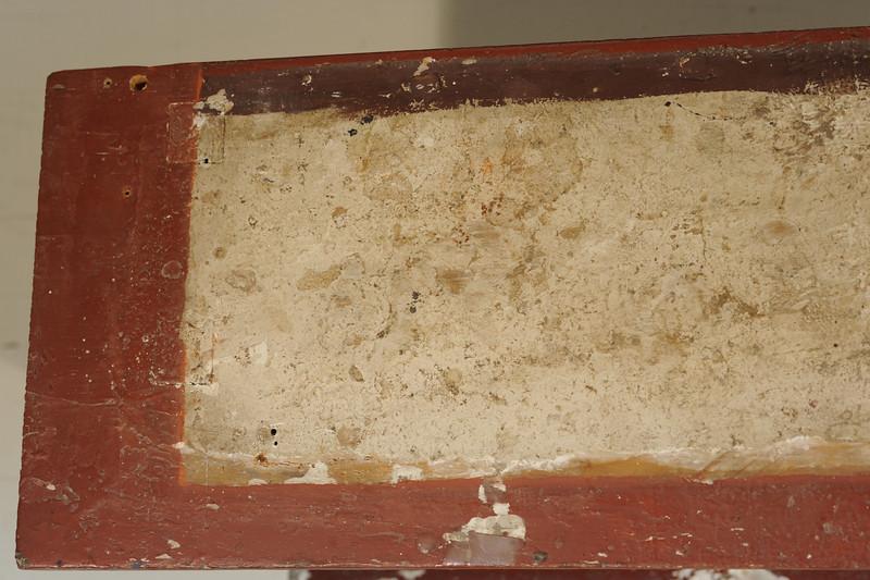 Vorzustand: Anna Altar, Predella, Ansicht von oben, linke Seite AAF_1007_27-10-2011