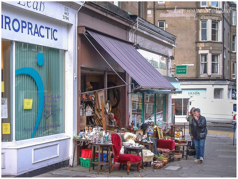 Bric-a-brac shop, Comiston Road  (2004)