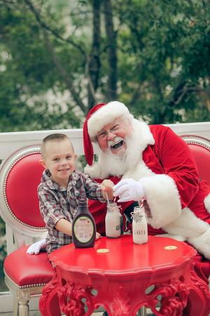 Gibson, Chocolate Milk....and Santa Claus :)
