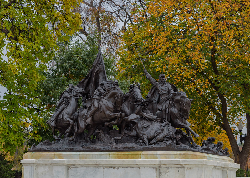 Ulysses S. Grant Memorial, Capitol Hill grounds