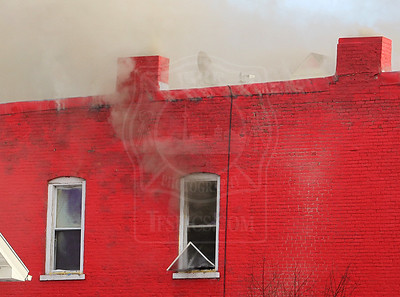 Buffalo, NY - December 3, 2010 - Working Fire - 259 Niagara Street