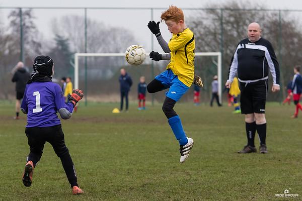 27/01/2018: U12P KVV Laarne-Kalken - KFC Sp. St.-Gillis Waas
