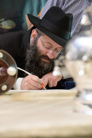 Holocaust Memorial Torah Dedication