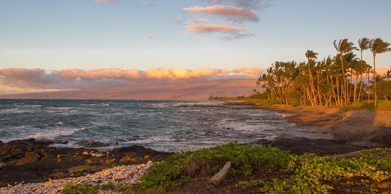 Mauna Lani Bay Sunset. Hawaii.