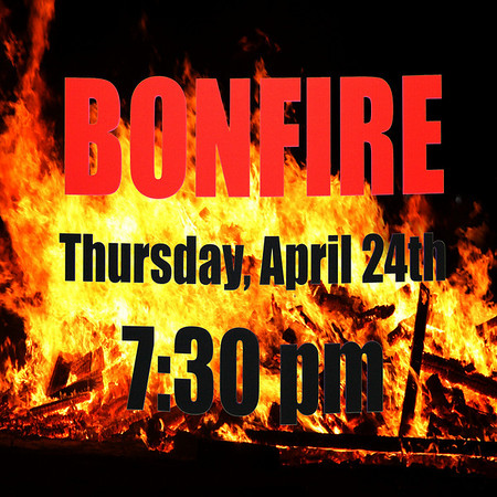 FAU Football's 1st Annual Bonfire, Kick-Off of the 2008 Football season, April 24th, 7:30pm
