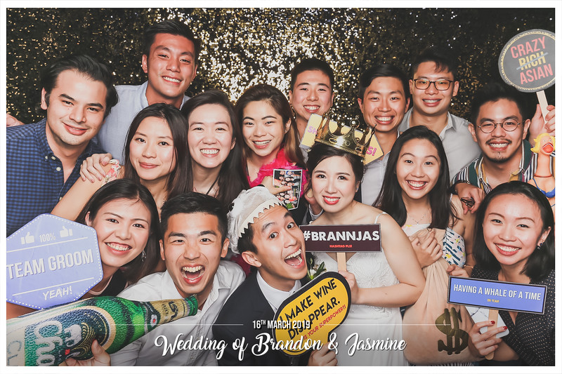 Wedding of Brandon & Jasmine   © www.SRSLYPhotobooth.sg