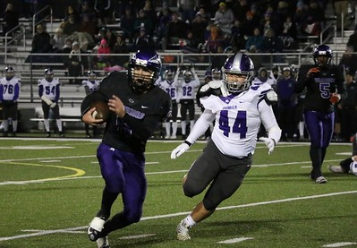 HS Sports - Ann Arbor Pioneer at Woodhaven Football