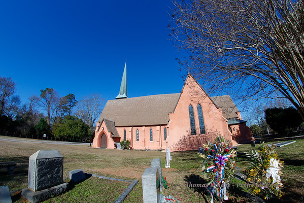 Church of the Holy Cross, Stateburg, 12/25/14