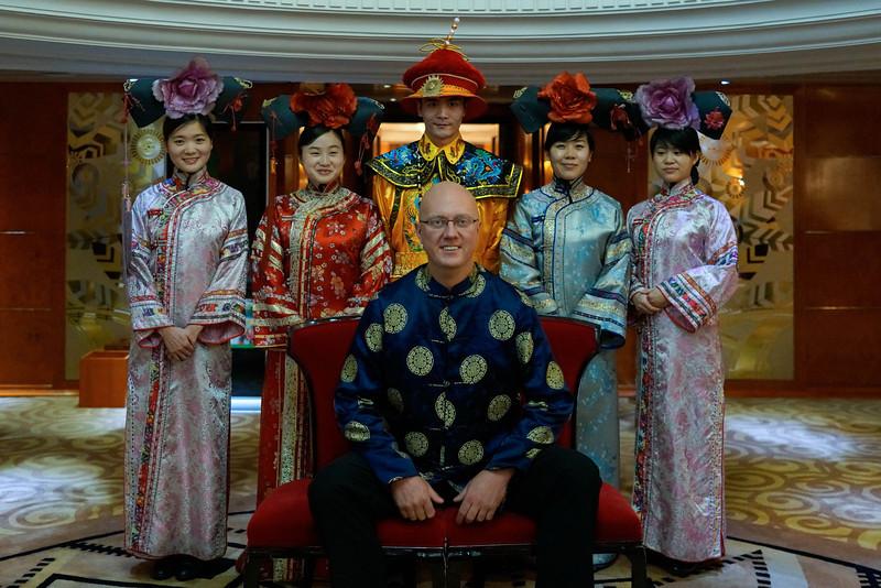 Bob Shigo, Cruise Director of the Yantze Princess