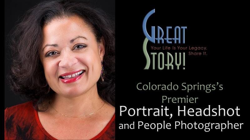 Premier Professional Portrait, Headshot and People Photographer in Colorado Springs, Colorado
