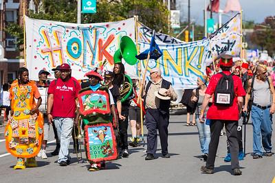 HonkFest Parade 2018