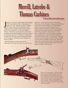 Merrill,  Latrobe & Thomas Carbines