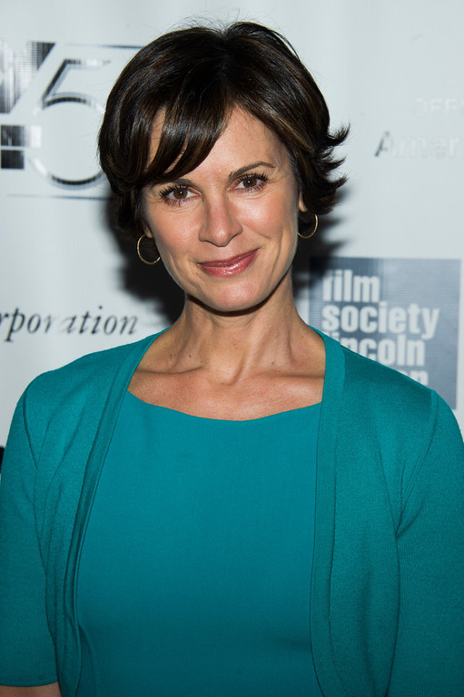 ". Elizabeth Vargas attends the New York Film Festival premiere of ""All Is Lost\"" on Tuesday, Oct. 8, 2013 in New York. (Photo by Charles Sykes/Invision/AP)"