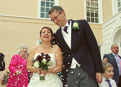 Amanda & Phil, Hintlesham Hall, Suffolk