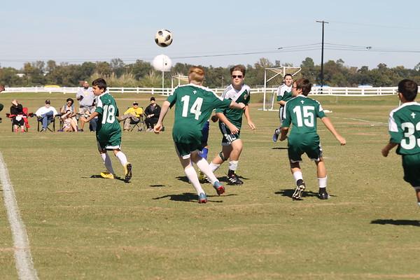 Jr high soccer (white team)