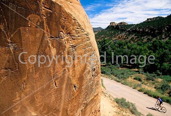 Petroglyphs - Grand Gulch, Newspaper Rock, Dinosaur National