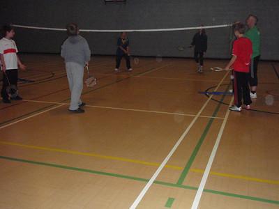 Badminton Scouts October 2011